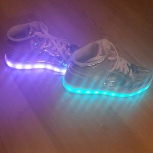 Sketchers light up shoes!